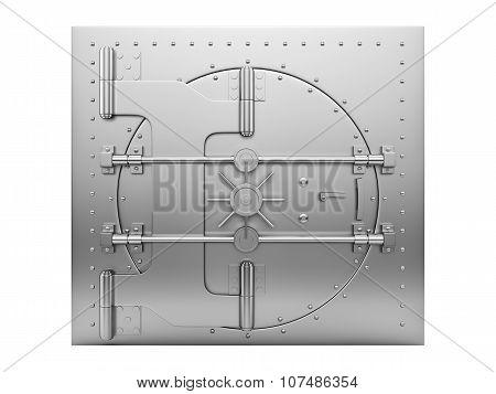 closed vault door