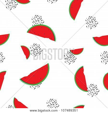 Watermelon seamless pattern for your business
