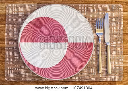 Dinner Plate For Greenland