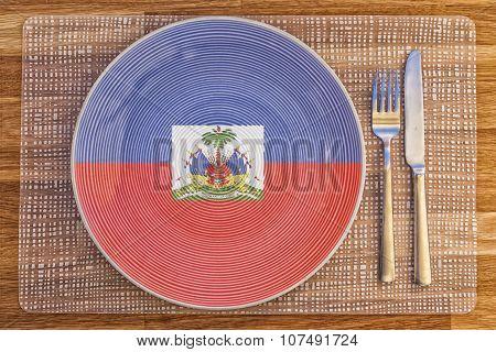 Dinner Plate For Haiti