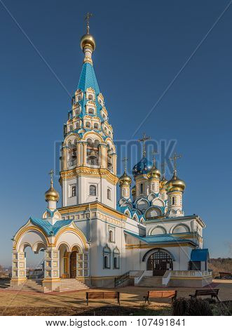 Temple Of The Mother Of God