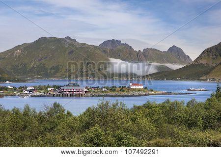Lofoten archipelago, Austvagoya island