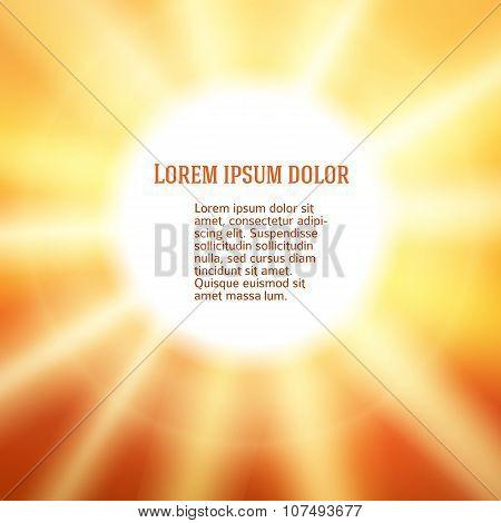 Sammer_hot_sunny_background_poster