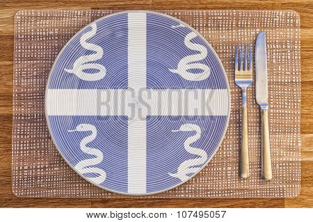 Dinner Plate For Martinique