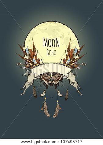 Boho Moon