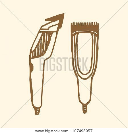 Hair clippers implements