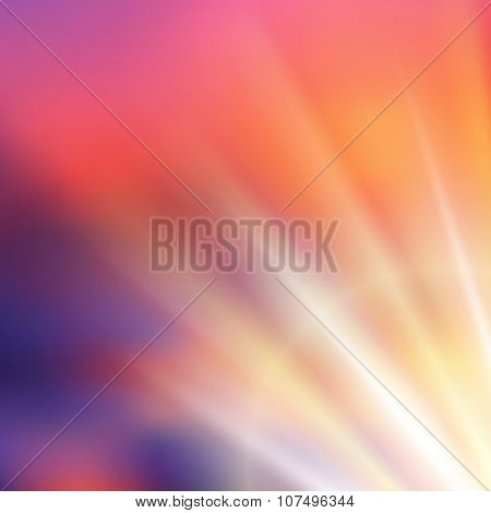 Sunray_brust_background_on_blurry_colorang