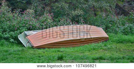 Old Metal Boat