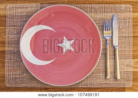 Dinner Plate For Turkey