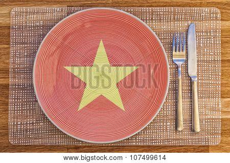 Dinner Plate For Vietnam