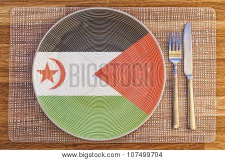 Dinner Plate For Western Sahara