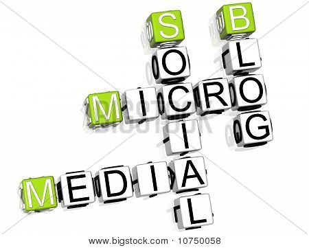 Media Blog Crossword