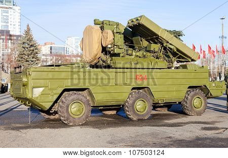 Russian Anti-aircraft Missile System