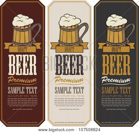 Labels For The Beer