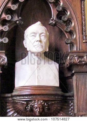 Toronto St James Cathedral Bust Of Grasett 2015