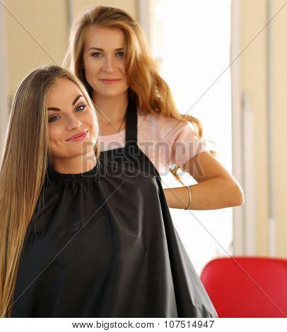 Hairdresser Salon Concept