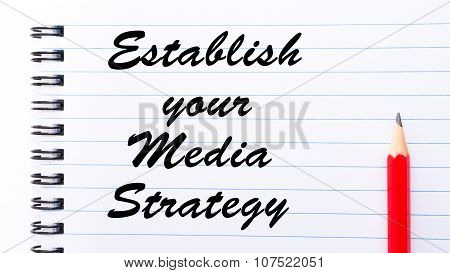 Establish Your Media Strategy