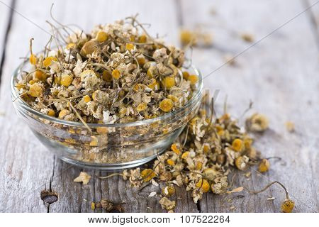 Heap Of Dried Camomile