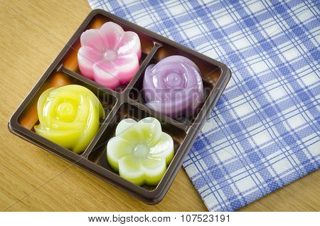 Thai Layer Sweet Cakes