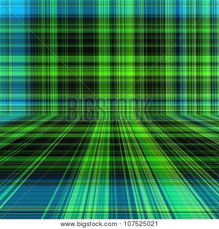 Perspective Plaid Or Tartan Pattern Abstract Background