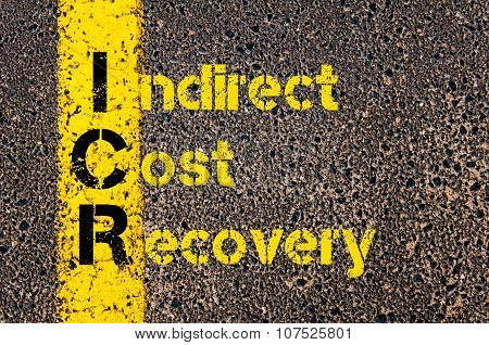 Business Acronym Icr As Indirect Cost Recovery
