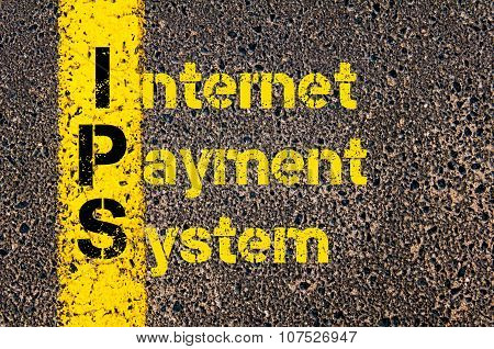 Business Acronym Ips As Internet Payment System