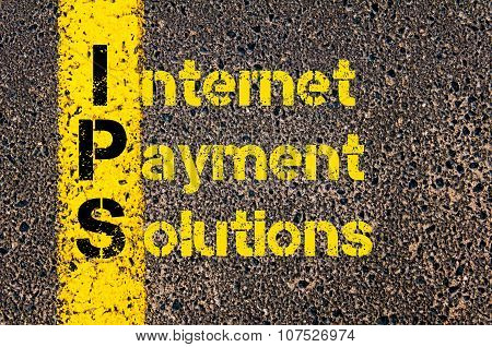 Business Acronym Ips As Internet Payment Solutions
