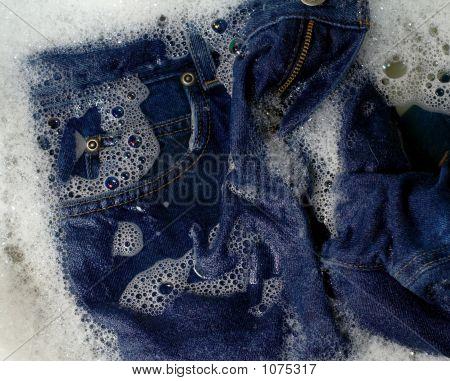 Lavado de jeans