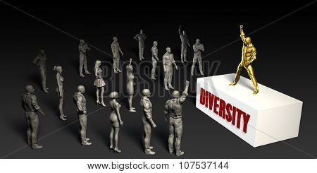 Diversity Fight For and Championing a Cause