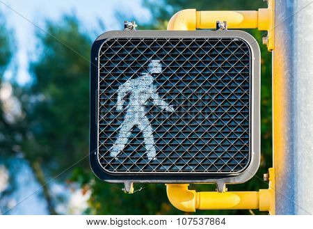 Crosswalk Sign - Go Ahead and Walk