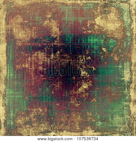 Rough grunge texture. With different color patterns: yellow (beige); brown; purple (violet); green