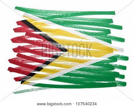 Flag Illustration - Guyana