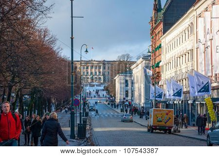 Streets Of Oslo, Norway