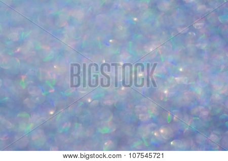 Abstract Multicolored Iridescent Glitter Texture Background