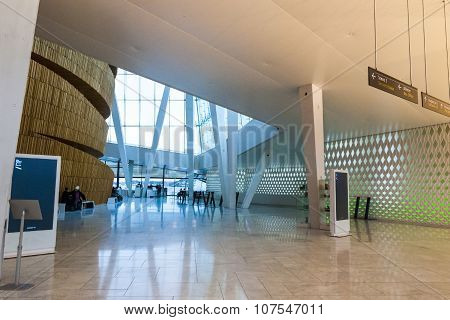 Interior Of Oslo Opera House, Norway