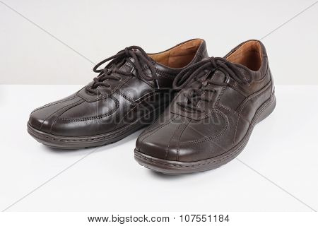 dark brown mens shoes