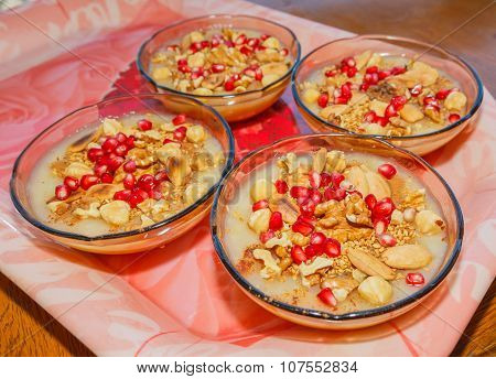 Turkish Dessert Ashura 3