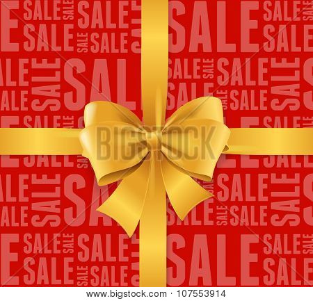 Sale Background. Vector