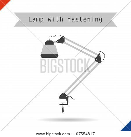 Icon Lamp With Fastening