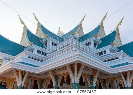Buddhist Church Roof