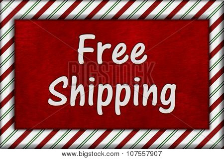 Holiday Time Free Shipping
