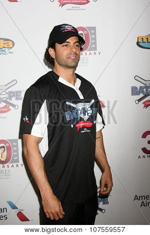LOS ANGELES - NOV 7:  Adrian Bellani at the Adrian Gonzalez's Bat 4 Hope Celebrity Softball Game PADRES Contra El Cancer at the Dodger Stadium on November 7, 2015 in Los Angeles, CA