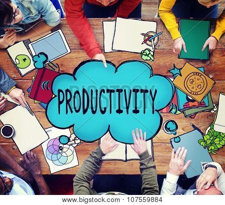 Productivity Business Development Improvement Plan Concept