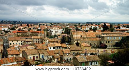 View On Carcassonne City