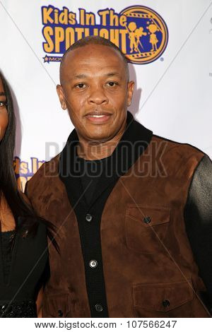 LOS ANGELES - NOV 7:  Dr. Dre, Andre Romelle Young at the Kids In The Spotlight's Movies By Kids, For Kids Film Awards at the Fox Studios on November 7, 2015 in Century City, CA