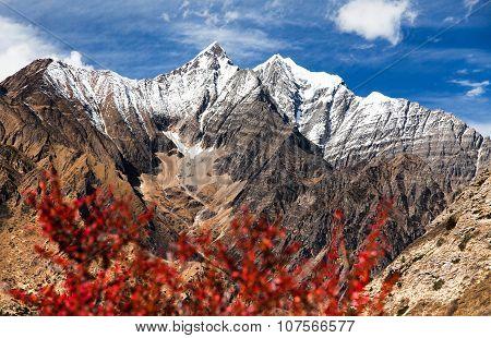 Beautiful Mountains Near Ringmogaon Village