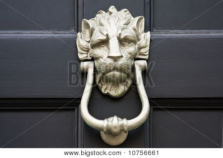 Door Knocker Close Up