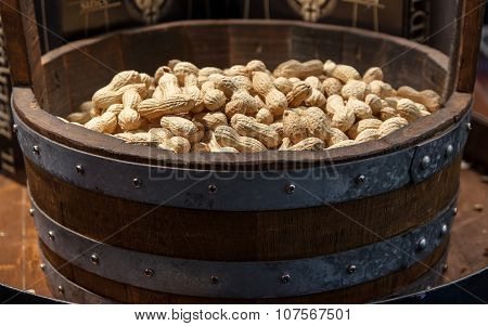 Basket Of Peanut