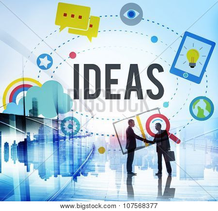 Ideas Inspiration Think Creative Research Concept