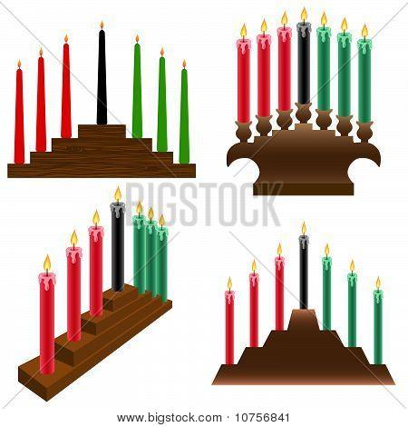 kwanzaa candlestick